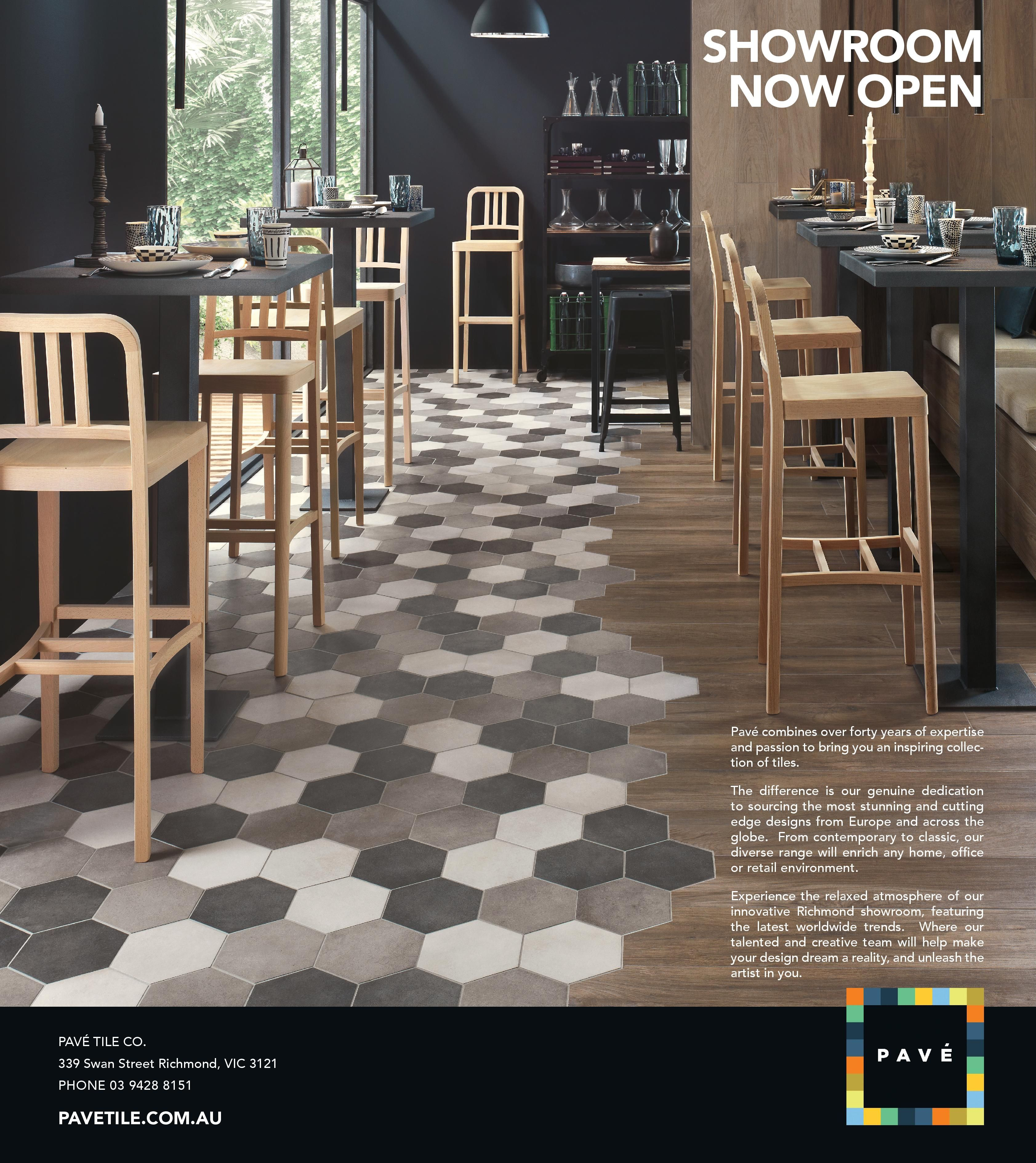 melb weekly full page pave bistro pavé tile co