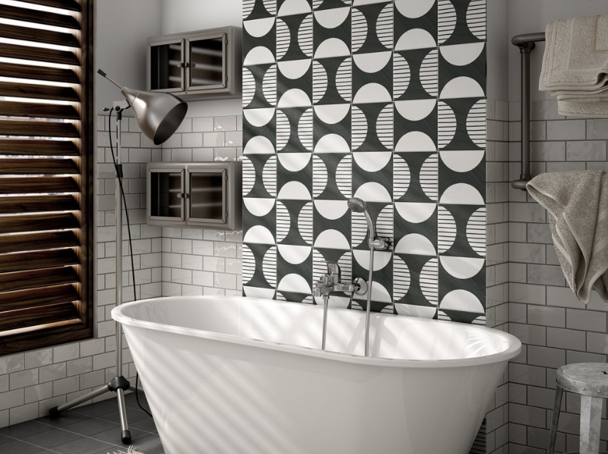 Caprice Deco Black & White Tiles, Melbourne - Pavé Tile Co