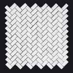 CARRARA HERRINGBONE SMALL