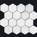 CARRARA HEXAGON 80mm