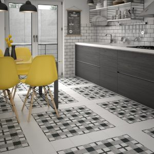 Caprice Deco cloth BW-150x150 - Pavé Tile Co