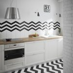 chevron black and white-150x150 - Pavé Tile Co
