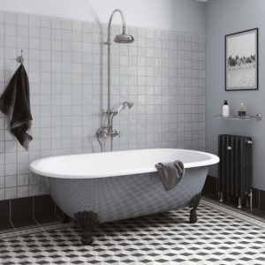 mallorca grey square bathroom