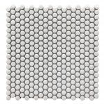 Crackle White 15mm