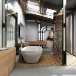 vintage-industrial-style-bathroom-with-exposed-pipes-150x150 - Pavé Tile Co