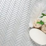 white gloss herringbone small-150x150 - Pavé Tile Co