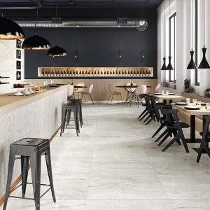 Gres-porcellanato_Ceramiche-Coem_Reverso2_White-45×90-Mosaico-Esagono-Line-45×90-150x150 - Pavé Tile Co